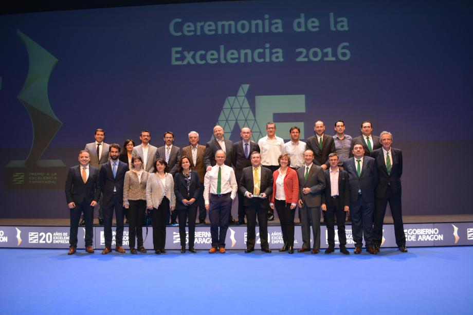 MANN+HUMMEL IBÉRICA consigue el Premio a la Excelencia Empresarial en Aragón 2016