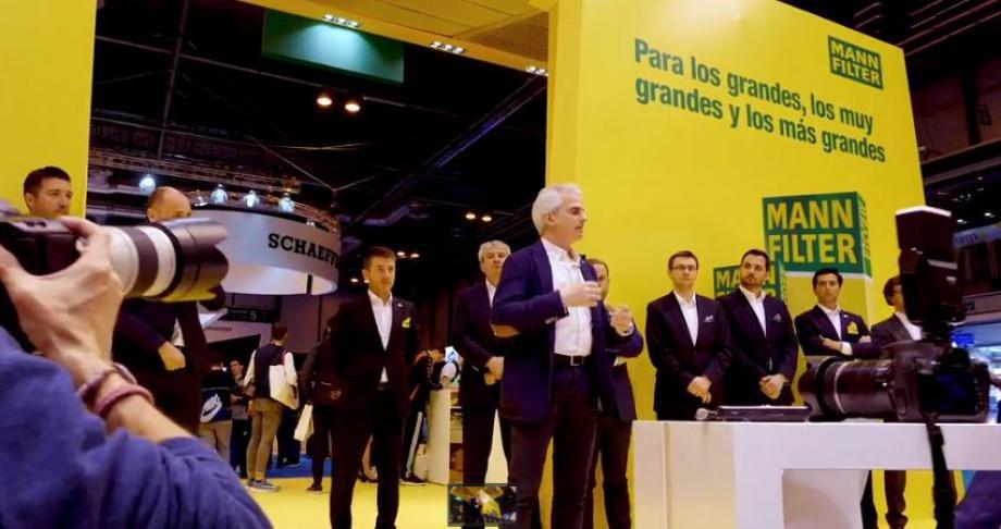 Antonio Martínez, Responsable Técnico de MANN+HUMMEL,